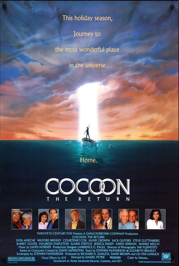 Cocoon: The Return Cocoon The Return 1988 My Favorite Movies Pinterest Movie