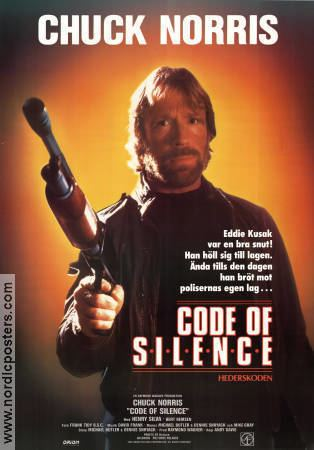 Code of Silence (film) Code of Silence poster 1985 Chuck Norris original