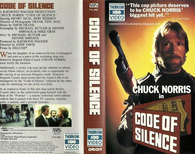 Code of Silence (film) robotGEEKS Cult Cinema Review Code of Silence