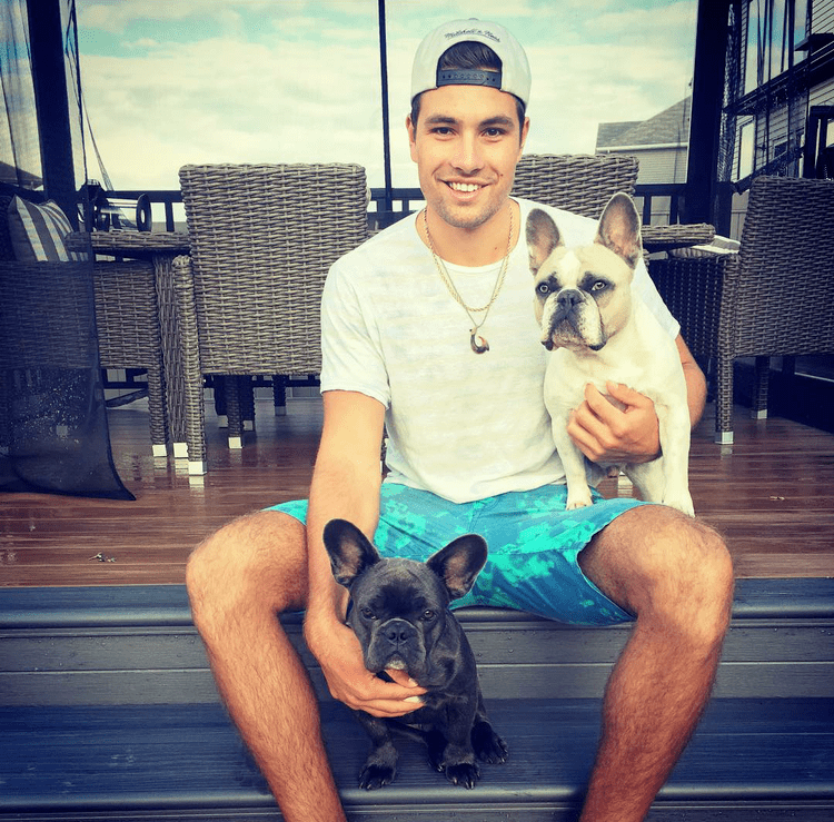 Cody Ceci Hockey Players With Pets And Other Animals Cody Ceci with his