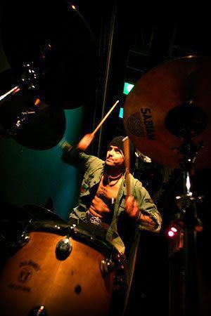 Col Hatchman Drummerszone artists Col Hatchman