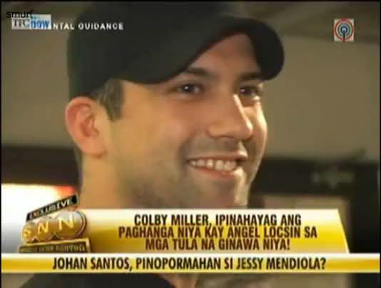 Colby Miller COLGELAngel Locsin Colby MillerI miss you although weve
