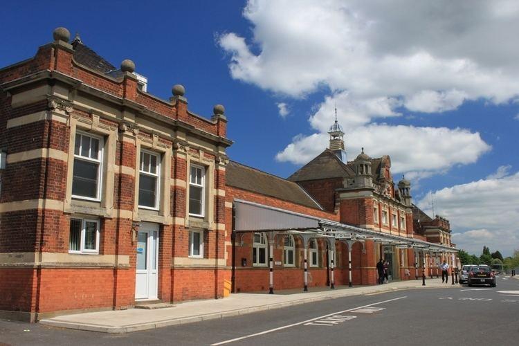 Colchester railway station