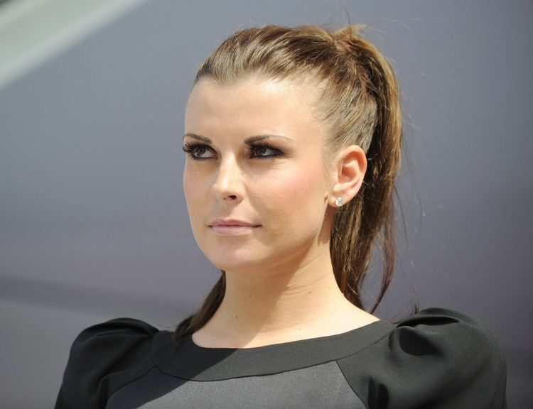 Coleen Rooney Photos of Coleen Rooney at Ladies Day at Aintree in LBD