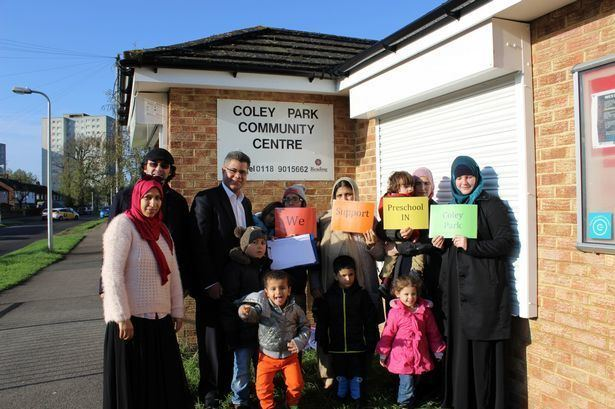 Coley Park Plea for new Coley Park preschool backed by Reading West MP Get