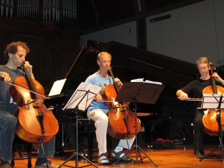 Colin Carr Day Six Damp Weather and High Spirits chamber music blog