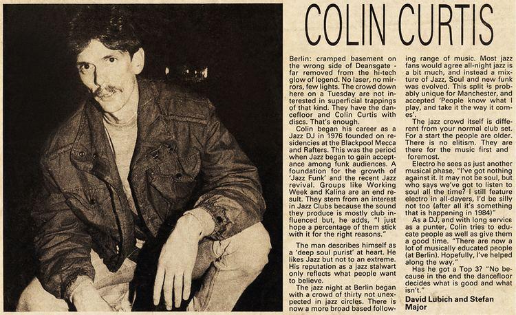 Colin Curtis (DJ) Electrospective Colin Curtis Electrofunkroots
