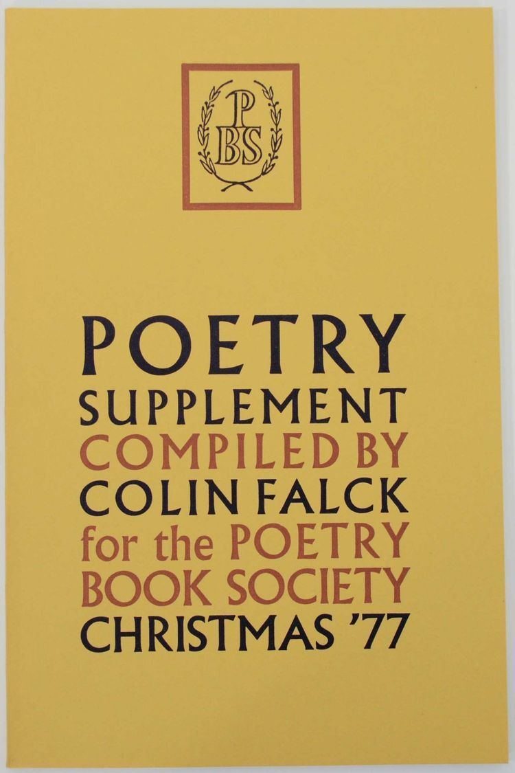 Colin Falck Poetry Supplement Christmas 1977 Colin FALCK Susannah Amoore