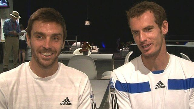 Colin Fleming Andy Murray and Colin Fleming discuss doubles partnership