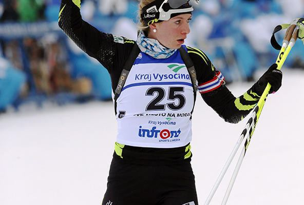 Coline Varcin Nove Mesto Coline Varcin 7e de la poursuite Nordic