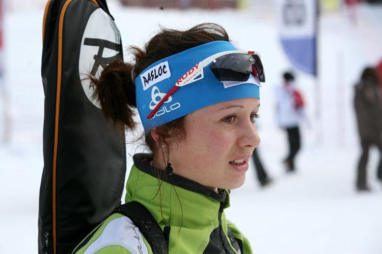 Coline Varcin dauphinordique gt Championnats de France de biathlon aux