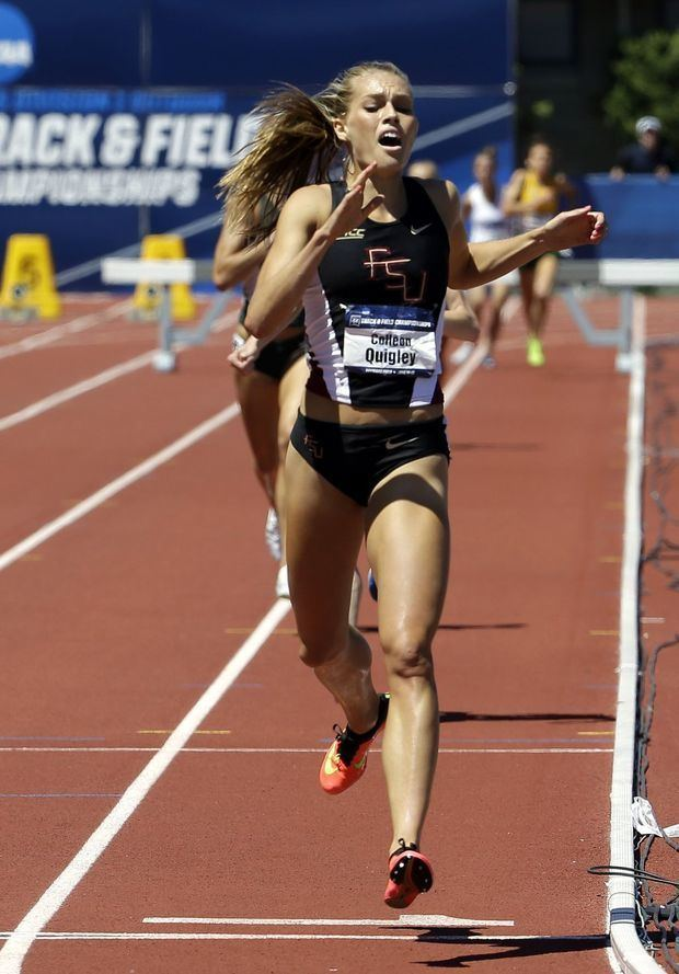 Colleen Quigley Nerinx Hall grad Quigley hurdles to top of her event in