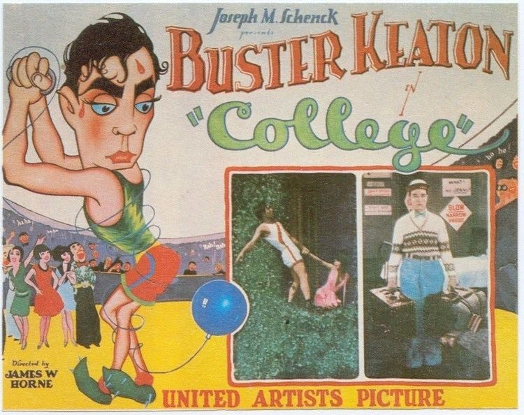 College (1927 film) College Full movie with Buster Keaton YouTube