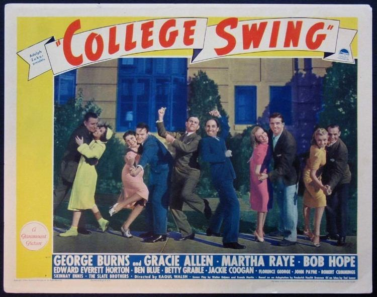 College Swing COLLEGE SWING Movie Poster 1938 Movie Posters Lobby Cards