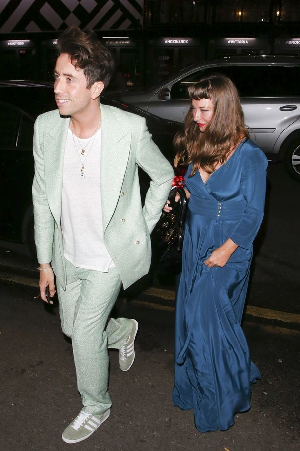 Collette Cooper INSIDE Nick Grimshaw39s celebpacked 30th birthday bash