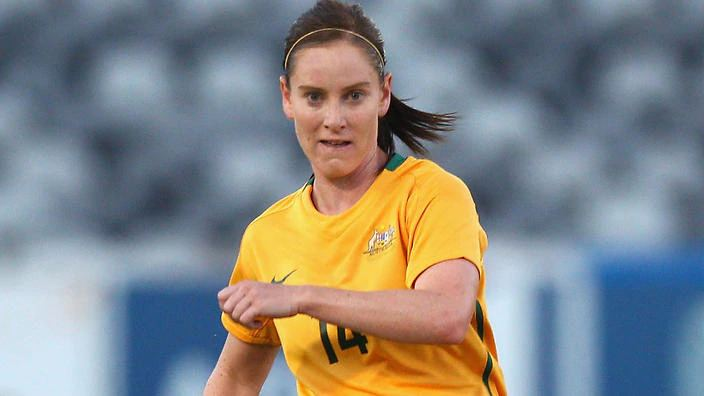 Collette McCallum Matildas draw with Scotland in McCallum39s final game