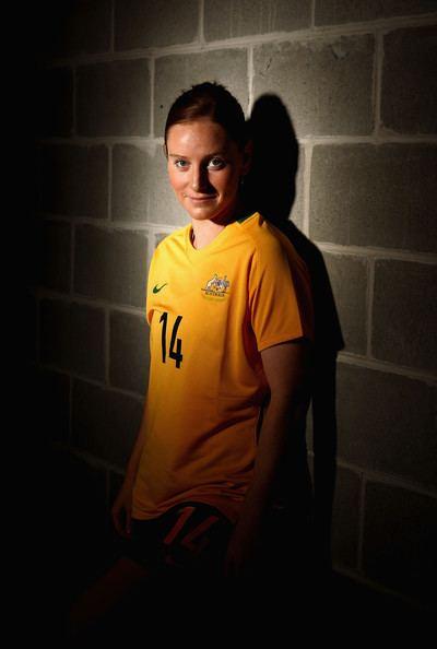 Collette McCallum Collette Mccallum Pictures Australian Matildas Portrait