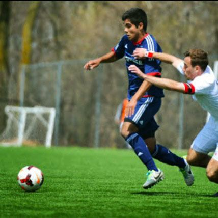 Collin Fernandez Fernandez signs with Chicago Fire DGN Omega