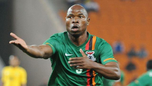 Collins Mbesuma Nigeria not afraid of Zambian striker Collins Mbesuma