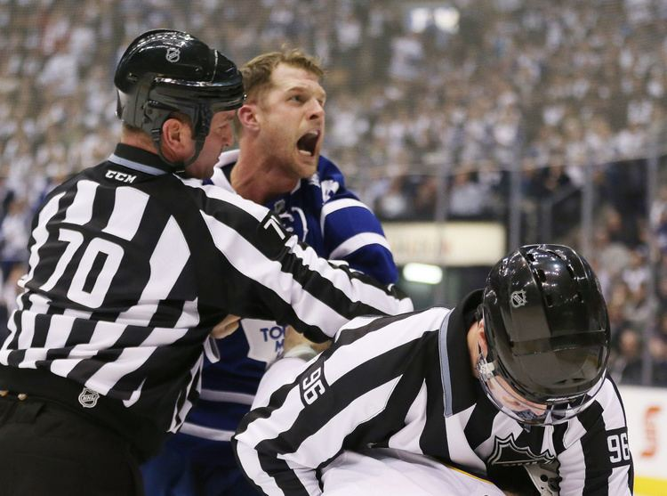 Colton Orr Toronto Maple Leafs resign Colton Orr Toronto Star