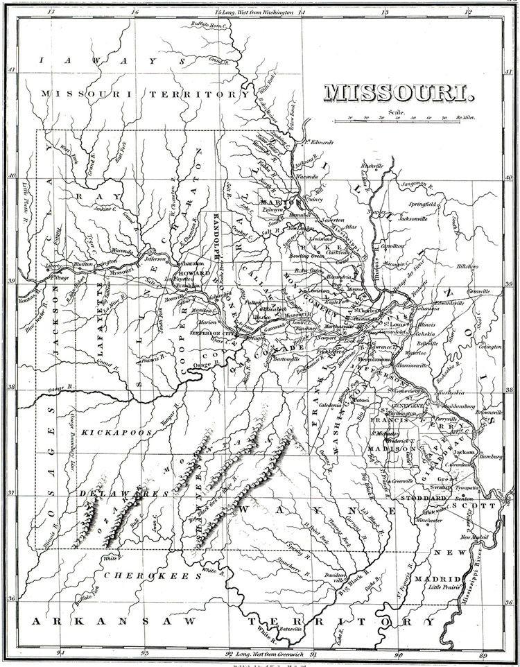 Columbia, Missouri in the past, History of Columbia, Missouri