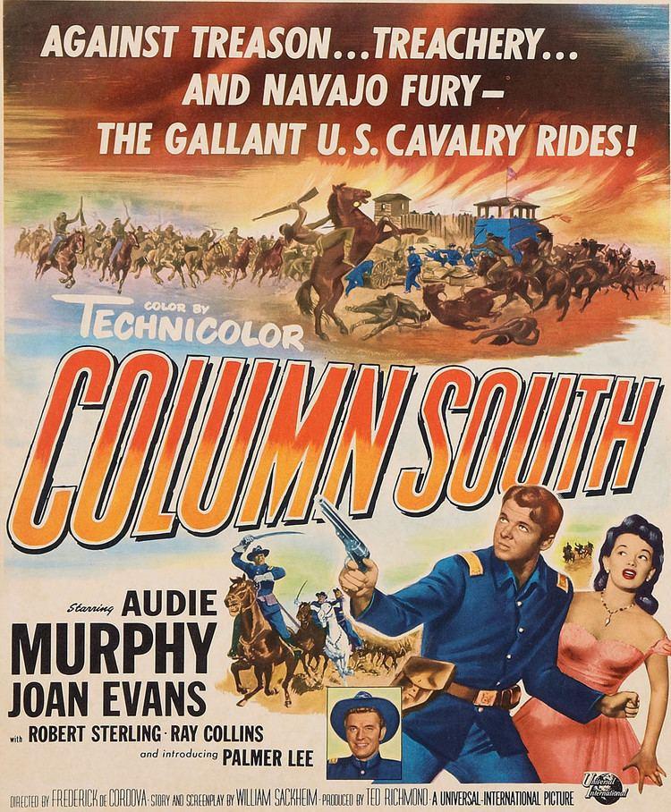Column South COLUMN SOUTH Movie poster Audie Murphy Joan Evans COLUMN SOUTH