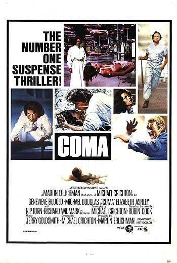 Coma (1978 film) Coma 1978 Movie Poster Version 02 HNN