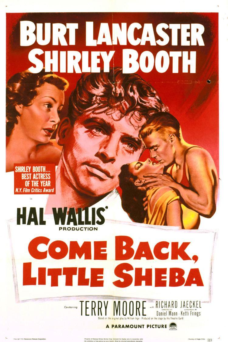 Come Back, Little Sheba (1952 film) wwwgstaticcomtvthumbmovieposters1420p1420p