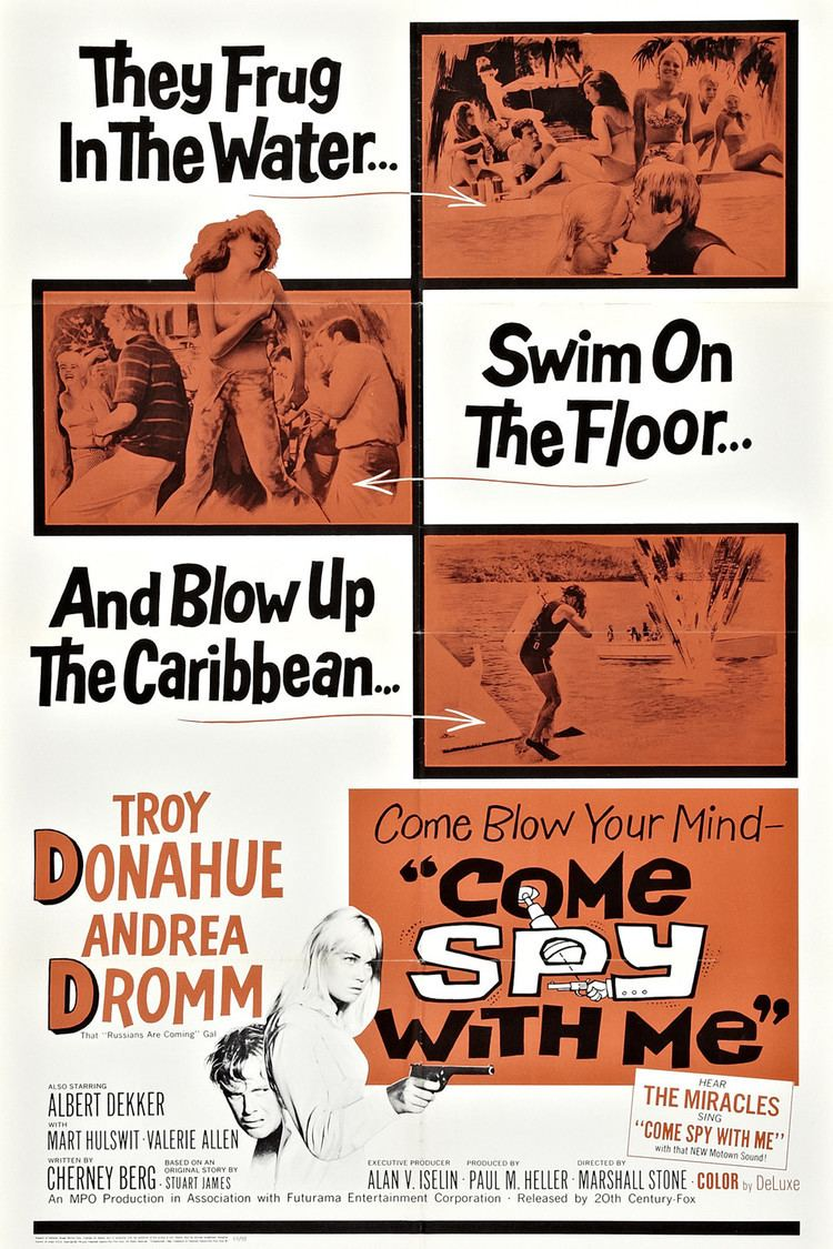 Come Spy with Me (film) wwwgstaticcomtvthumbmovieposters39547p39547
