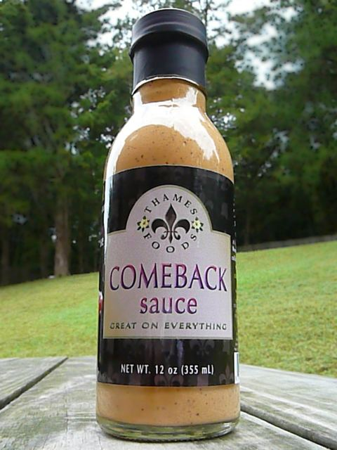 Comeback sauce Thames Foods Table Sauce of the SouthTHAMES FOODSCOMEBACK SAUCE