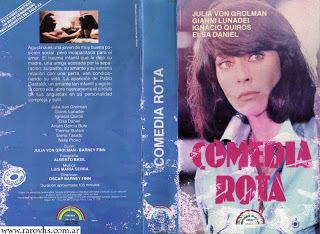 Comedia rota Comedia Rota 1978 Oscar Barney FinnRaro VHSPelculas en video