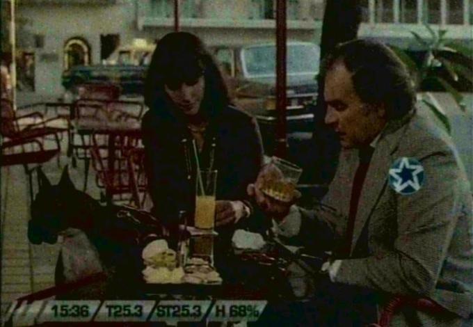 Comedia rota IMCDborg MercedesBenz 280 E W123 in Comedia rota 1978