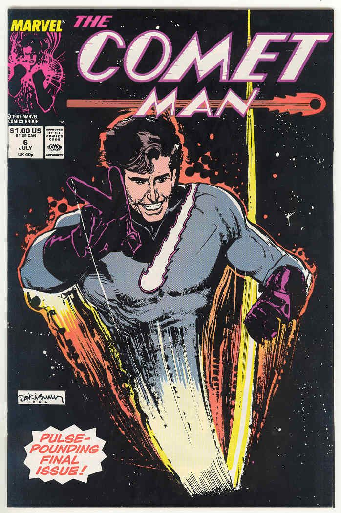 Comet Man Comet Man Marvel Comics Mumy Kelley Jones Sienkiewicz eBay