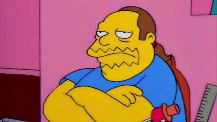 Pic Chief Wiggum Comic Book Guy The Simpsons