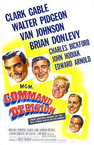 Command Decision (film) 13 movies in which the B17 Flying Fortress is the main star