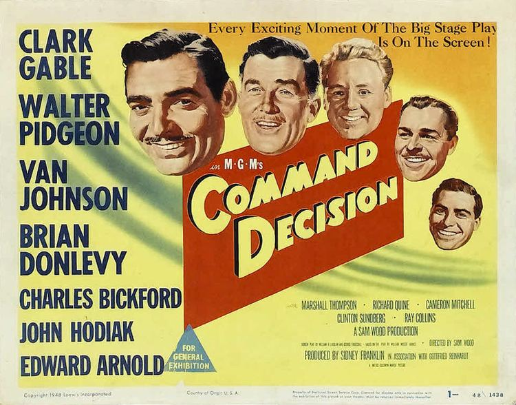 Command Decision (film) Command Decision 1948