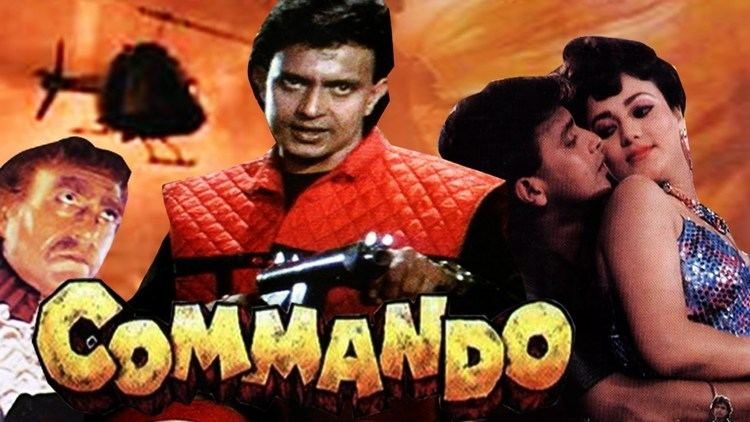 Commando 1988 Full Hindi Movie Mithun Chakraborty Mandakini