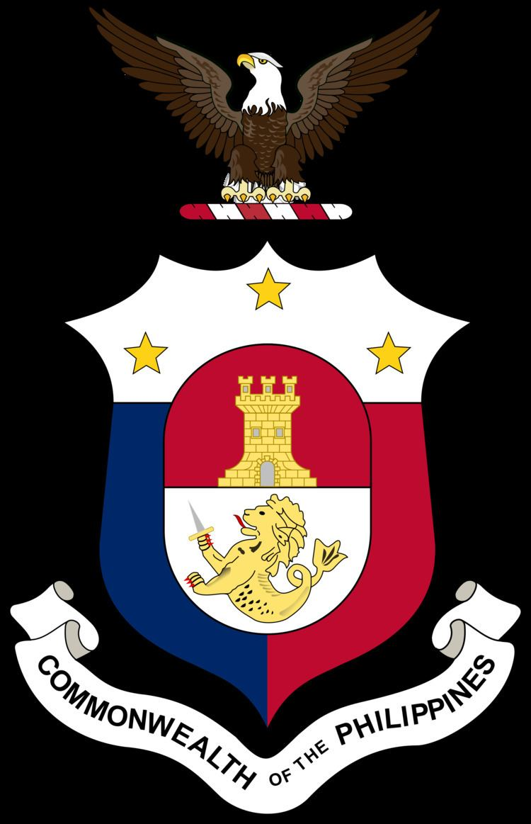 Commonwealth of the Philippines FileCoat of arms of the Commonwealth of the Philippinessvg