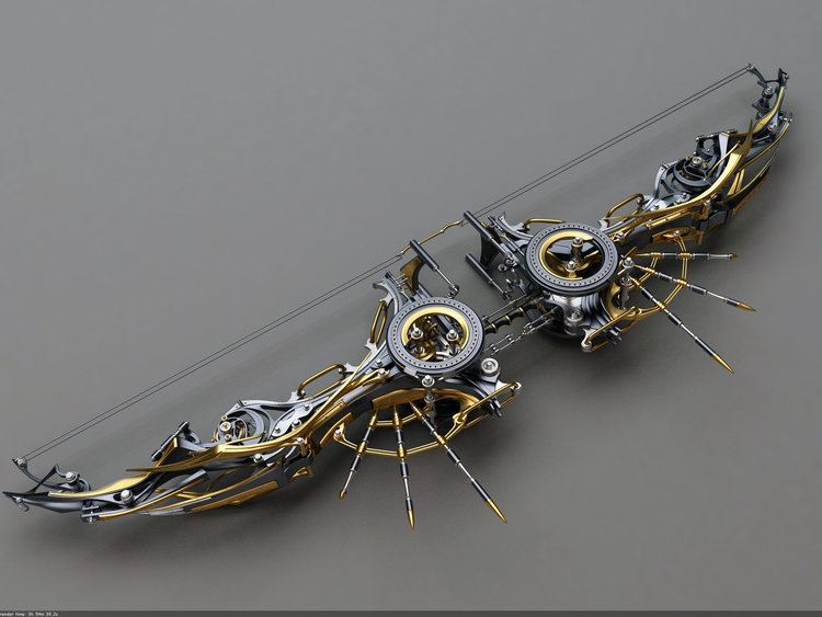Composite bow Heretic Composite Bow Top view by Samouel on DeviantArt