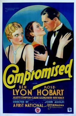 Compromised (1931 film) movie poster