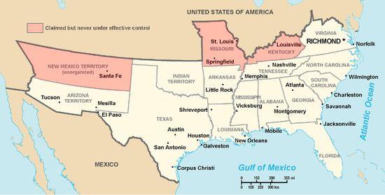 Confederate States of America Confederate States of America Wikipedia