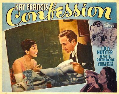 Confession (1937 film) Confession 1937 Journeys in Classic Film