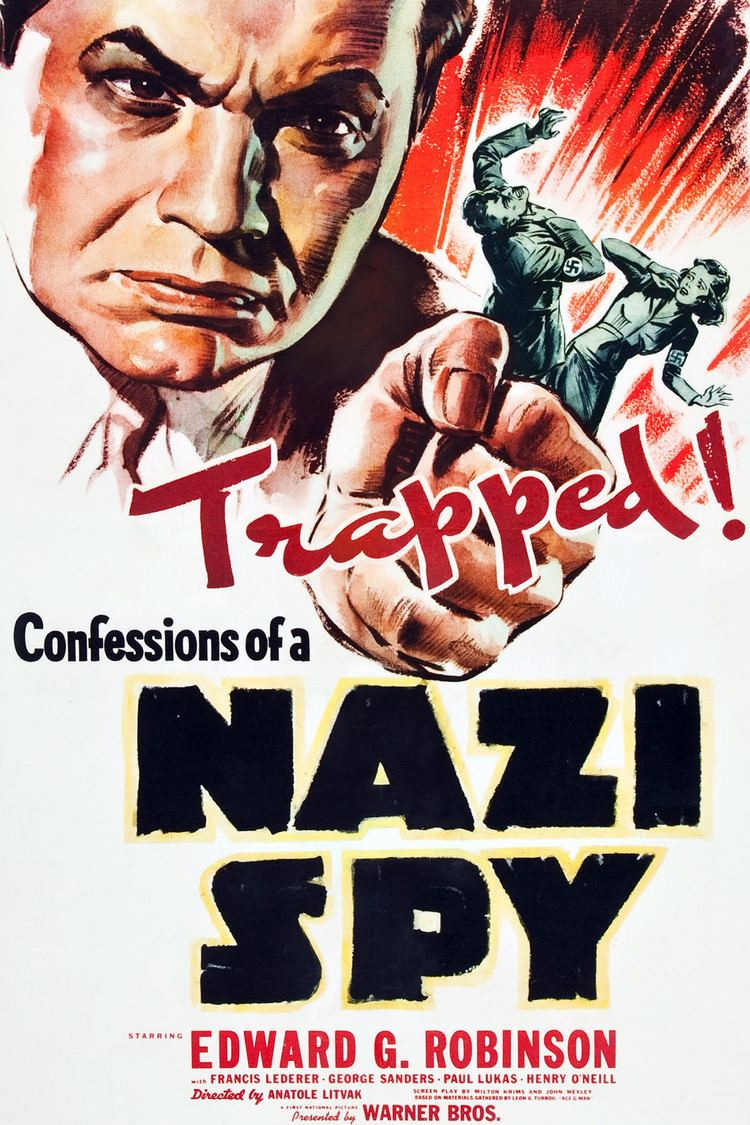 Confessions of a Nazi Spy wwwgstaticcomtvthumbmovieposters5564p5564p