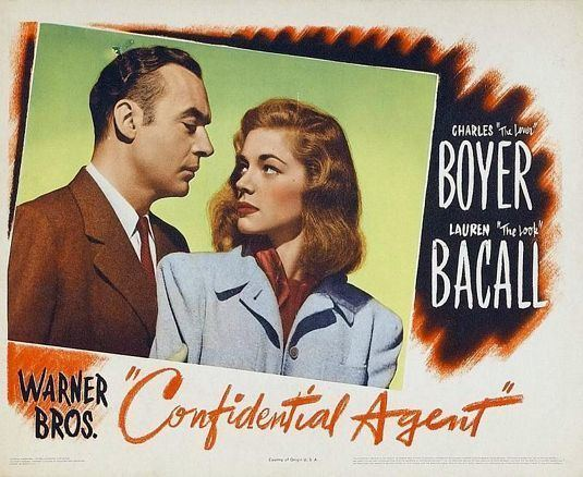 Confidential Agent Confidential Agent Movie Poster IMP Awards