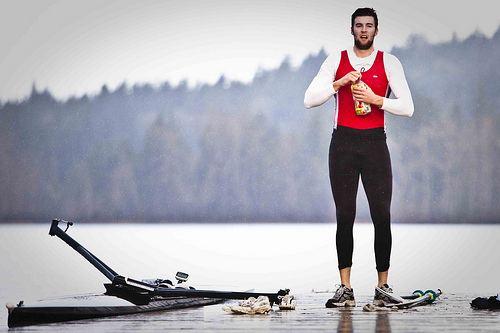 Conlin McCabe Rowing Canada Conlin McCabe Elk Lake Rain a photo on