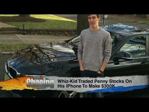 Connor Bruggemann Whiz Kid Makes 300000 Trading Penny Stocks YouTube