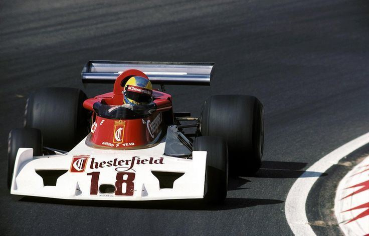 Conny Andersson (racing driver) 1976 Surtees TS19 Ford Conny Andersson 1976 Formua 1