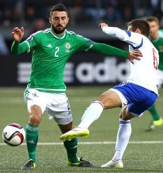 Conor McLaughlin Northern Ireland v Hungary Conor McLaughlin39s relishing