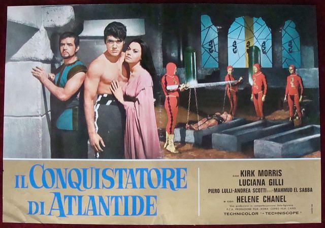 Conqueror of Atlantis THE CONQUEROR OF ATLANTIS 1965 Flickr