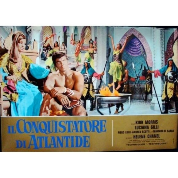 Conqueror of Atlantis CONQUEROR OF ATLANTIS 1965 KIRK MORRIS MUSCLE DVDR for sale